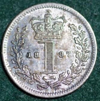 1887 Maundy 1d Rev