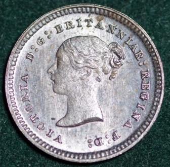1887 Maundy 2d Obv