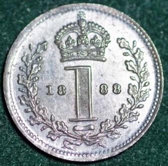 1888 Maundy 1d Rev