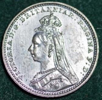 1888 Maundy 2d Obv