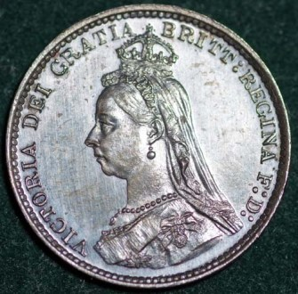 1888 Maundy 3d Obv