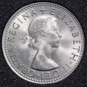 1967 Elizabeth II Sixpence Obv
