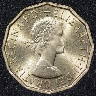 1967 Threepence Obv