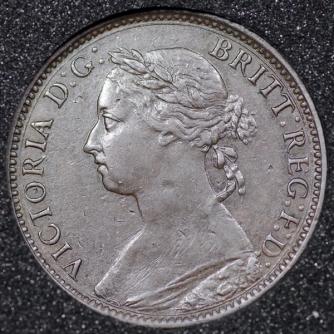 1881 Farthing Obv