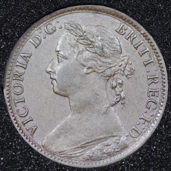 1885 Farthing Obv