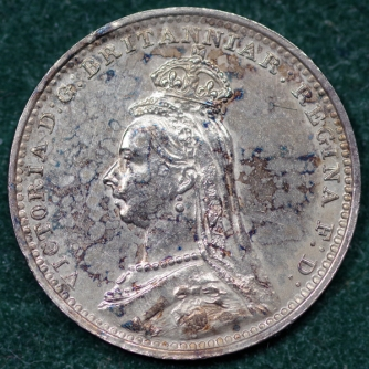 1888 Maundy 2d Obv 2nd Set