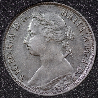 1891 Farthing Obv