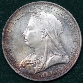 1898 Maundy 4d Victoria Obv Web