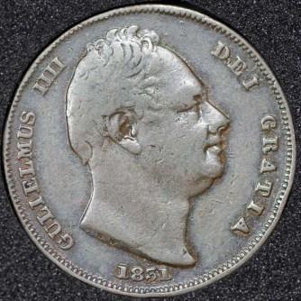 1831 William IV Farthing Obv