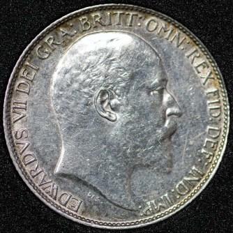 1908 Edward VII Sixpence Obv