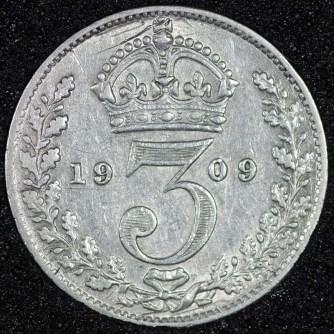 1909 edward vii threepence rev 800