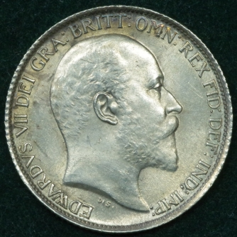 1906 Sixpence Obv