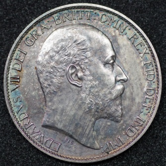 1902 Victoria Sixpence MATT PROOF Obv
