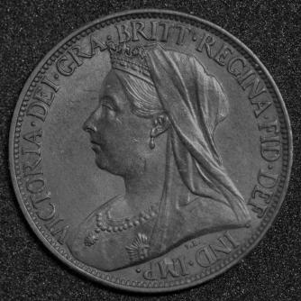 1898 Farthing Obv
